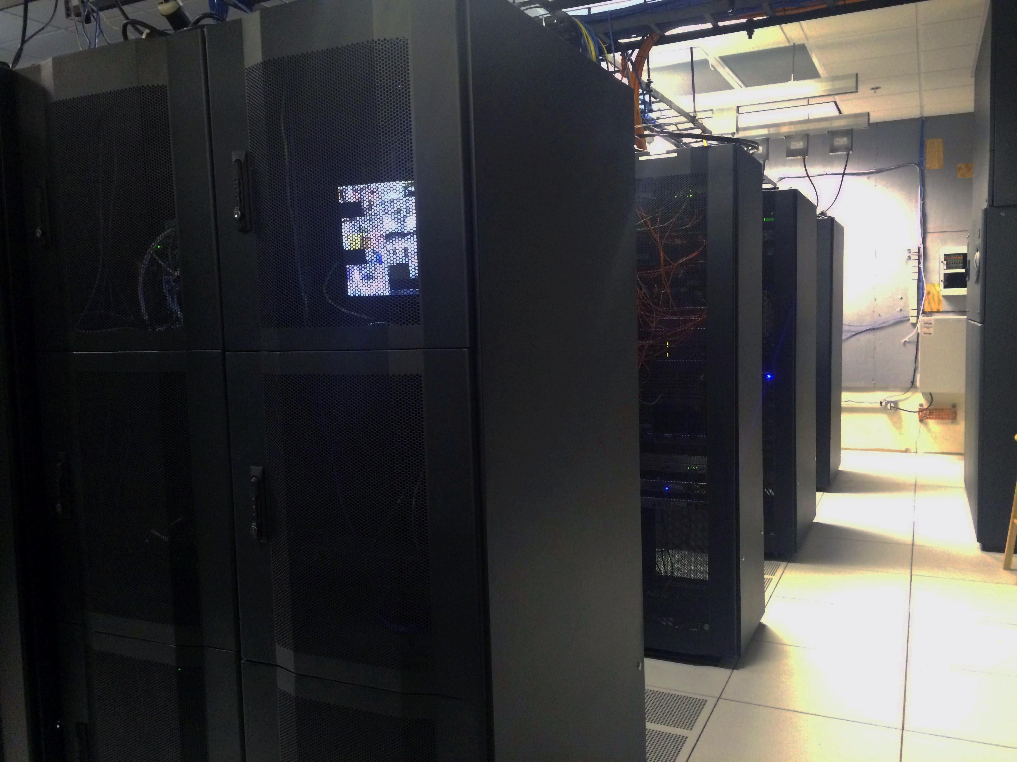 CSNTM's server room;