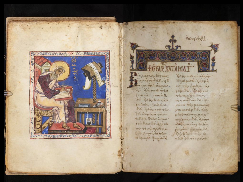 A Bifolio of the Beginning of Matthew in GA 776