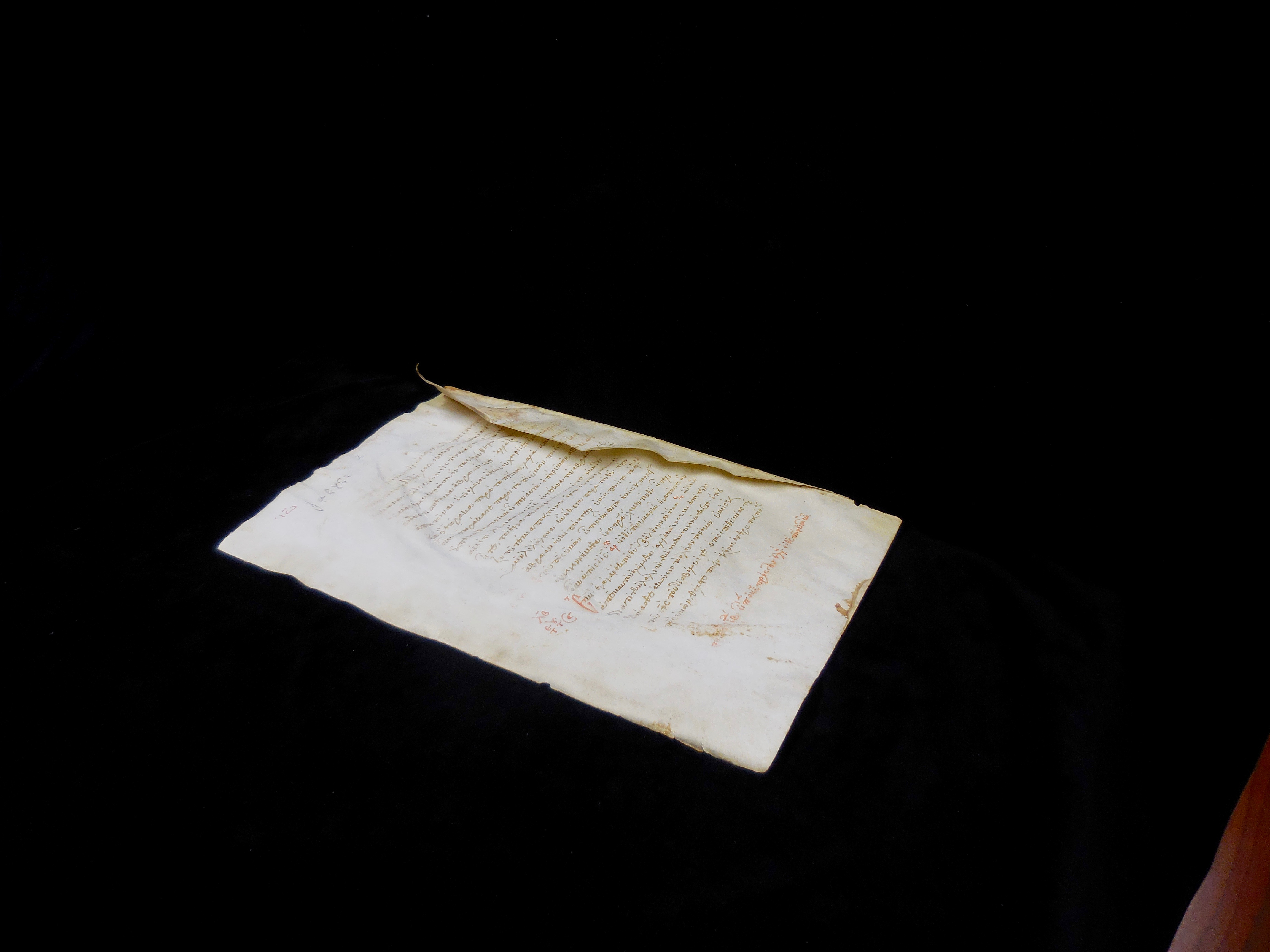 d045a8549d4 Gregory Aland (GA) 2878 is a one-leaf twelfth century minuscule manuscript  written on parchment and contains Luke 23 7–25. GA Lectionary 2434  (14th–15th ...