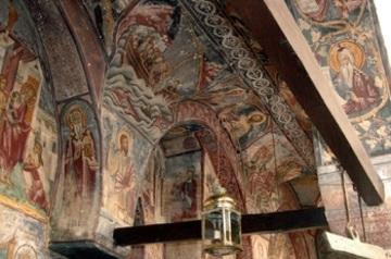 Mural at St. John's Monastery