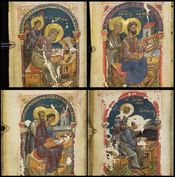 Four Gospels Icons